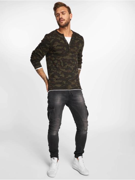 VSCT Clubwear Langermet Buttoned Double Optic kamuflasje