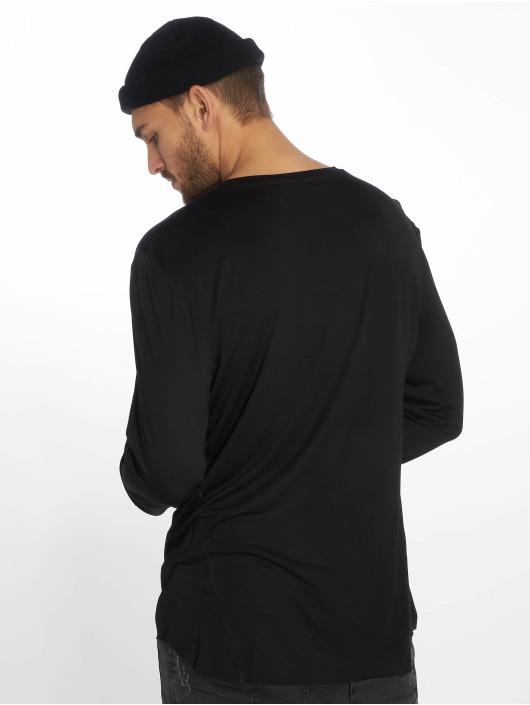 VSCT Clubwear Langermet Cut Collar svart