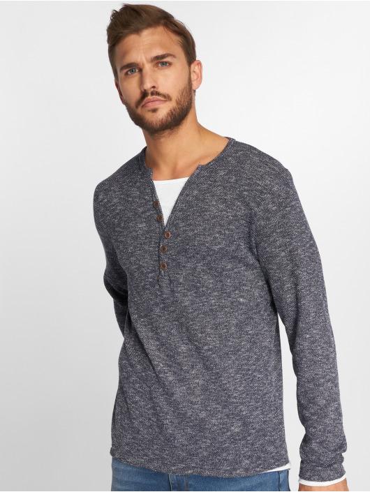 VSCT Clubwear Longsleeve Buttoned Double Optic Basic indigo