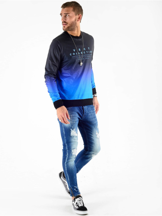 VSCT Clubwear Maglia Graded Crew blu