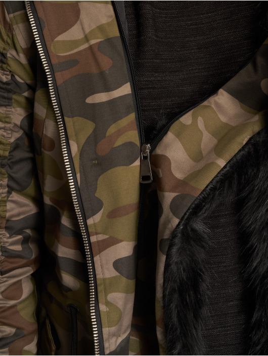 Homme Manteau 546197 Clubwear face Vsct Camouflage Hiver 2 QrChxtsd