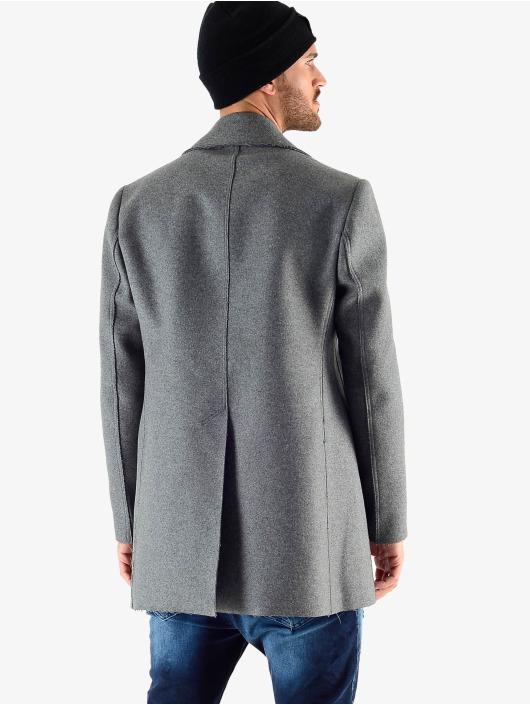 VSCT Clubwear Manteau hiver Sophisticated 2 BtnRows gris