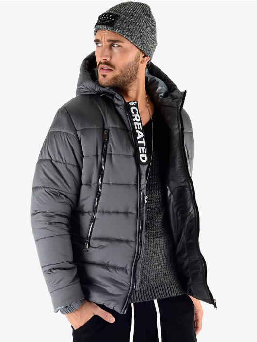 VSCT Clubwear Manteau hiver Padded gris