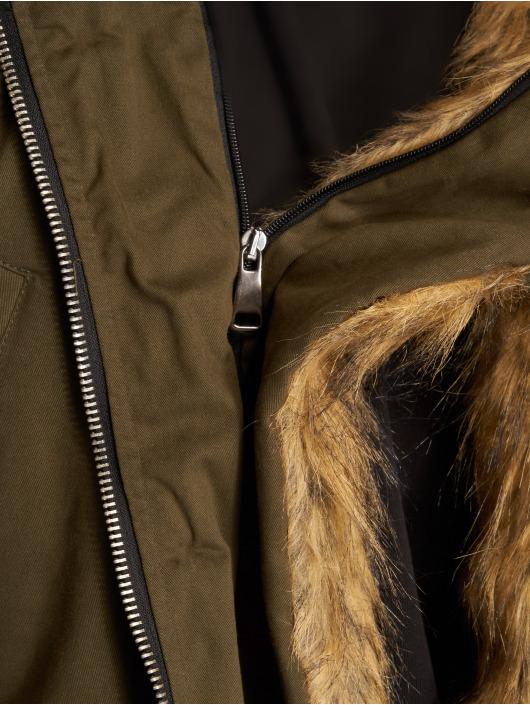 VSCT Clubwear Manteau hiver 2-Face kaki