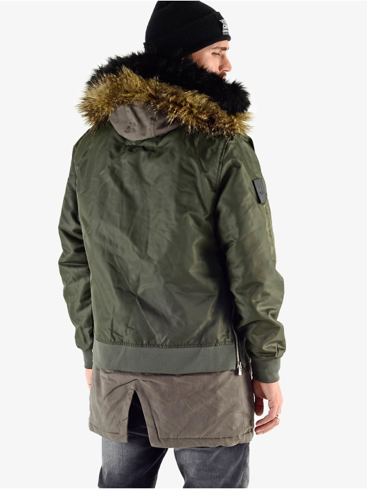 VSCT Clubwear Manteau hiver 2 In 1 Assasin kaki