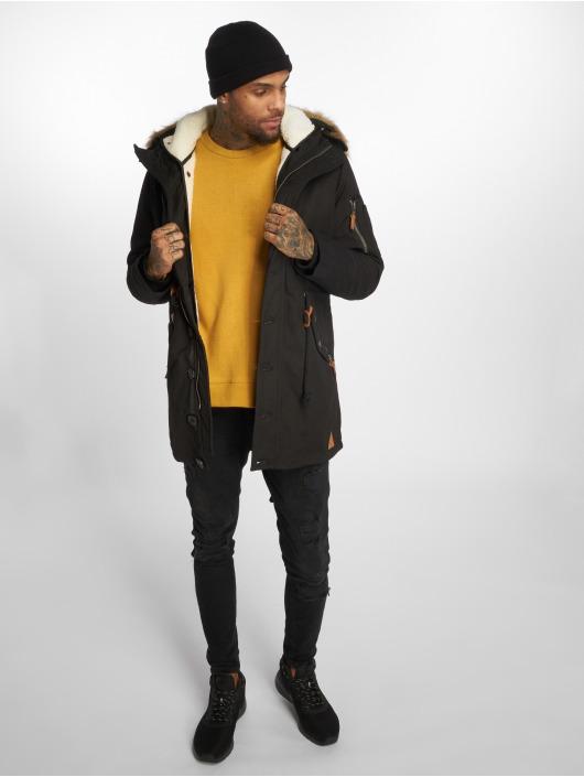 VSCT Clubwear Manteau hiver Luxury noir
