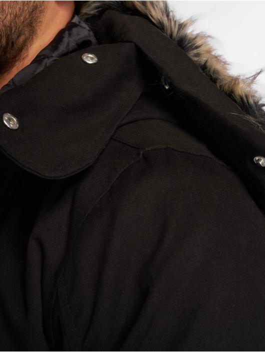 VSCT Clubwear Manteau hiver 2-Face noir