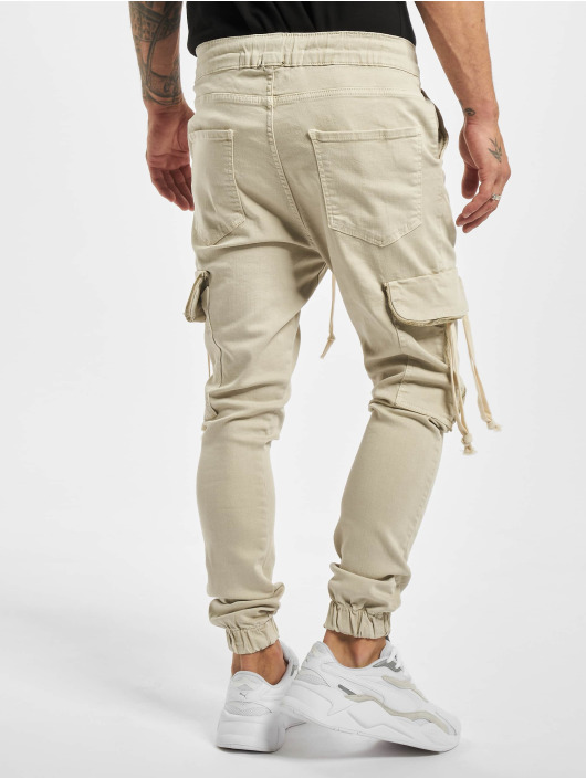VSCT Clubwear Pantalon cargo Noah Denim Cargo Cuffed beige