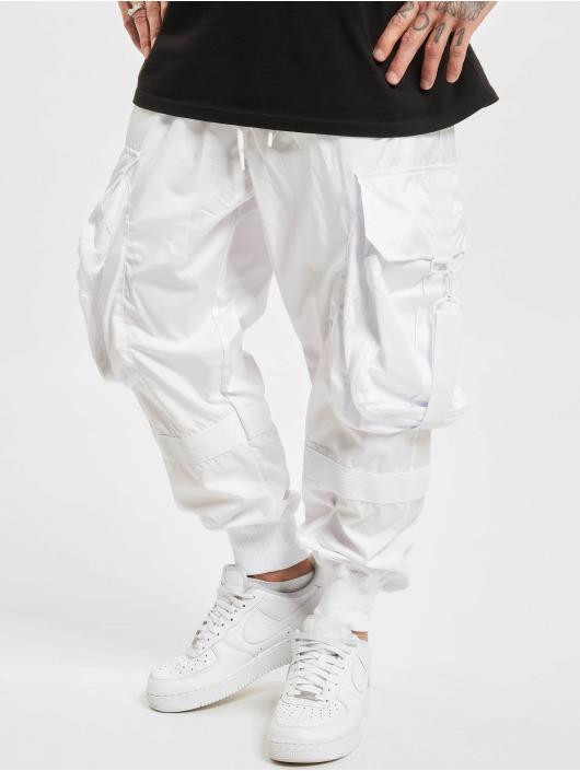 VSCT Clubwear Pantalon cargo Jupiter Cargo blanc