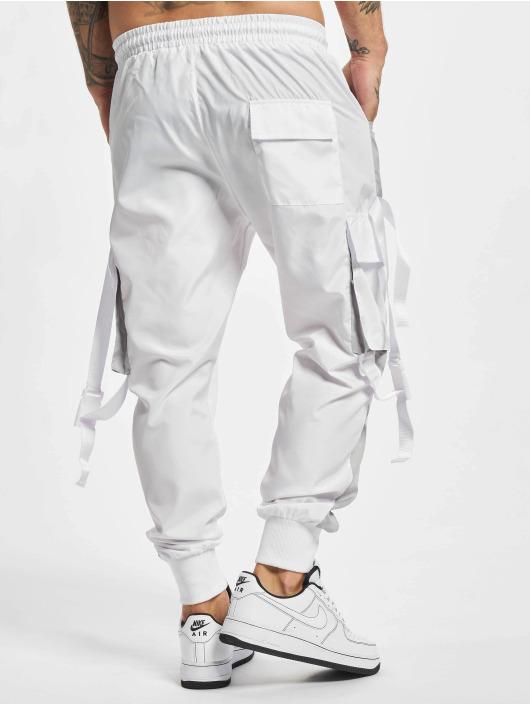 VSCT Clubwear Pantalon cargo Clubwear Pluto Colour blanc