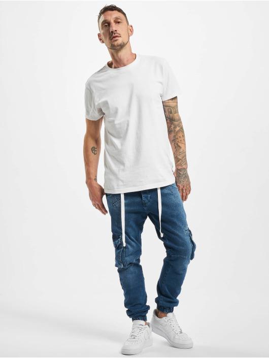 VSCT Clubwear Pantalon cargo Noah Denim bleu