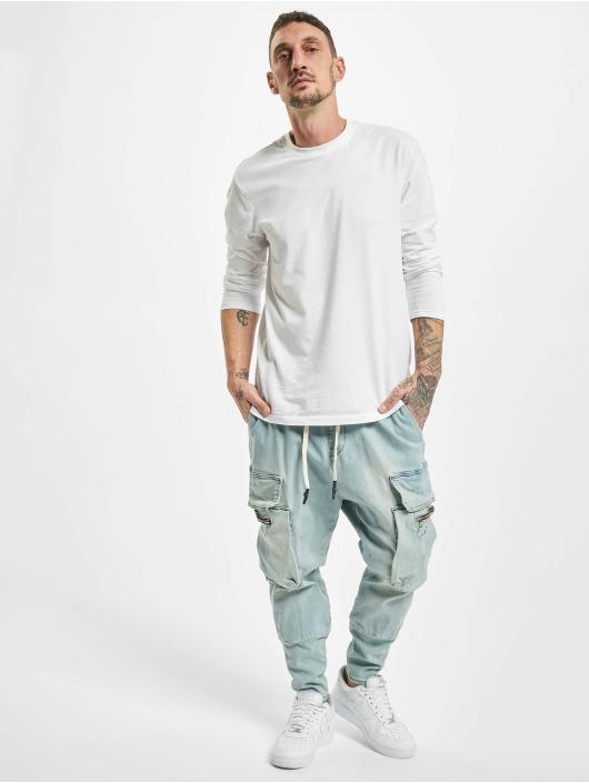 VSCT Clubwear Pantalon cargo Logan Antifit bleu