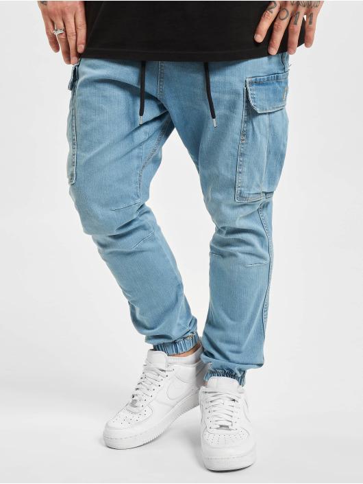 VSCT Clubwear Pantalon cargo Norman Baggy bleu