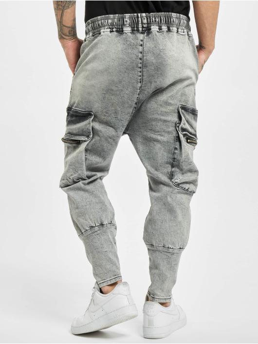 VSCT Clubwear Pantalon cargo Logan Antifit Denim gris