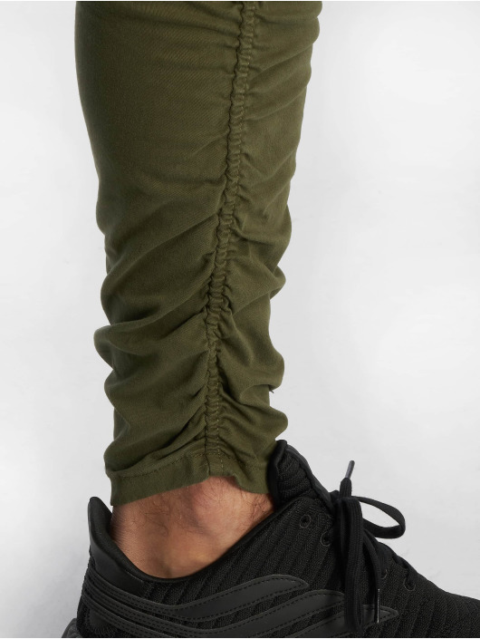 VSCT Clubwear Pantalon cargo Noah Gathered Leg kaki