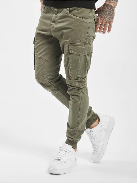 VSCT Clubwear Pantalon cargo Noah Cuffed kaki