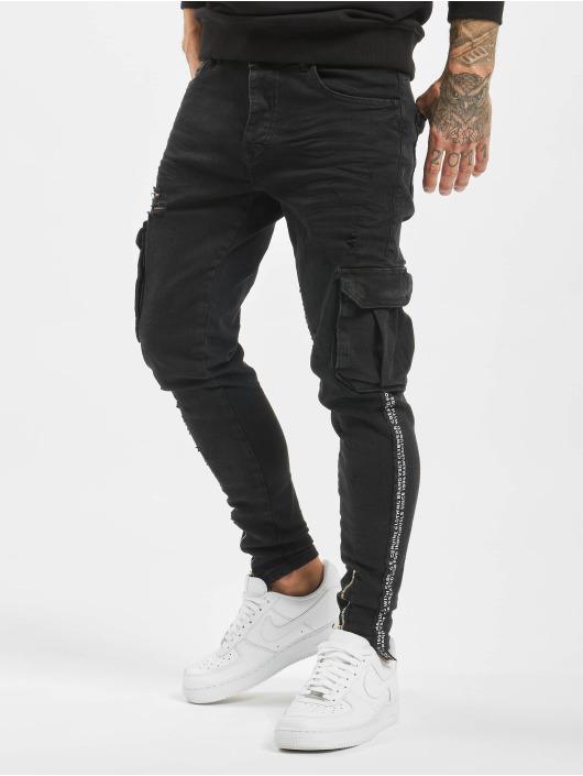 VSCT Clubwear Pantalon cargo Keanu Cargo noir