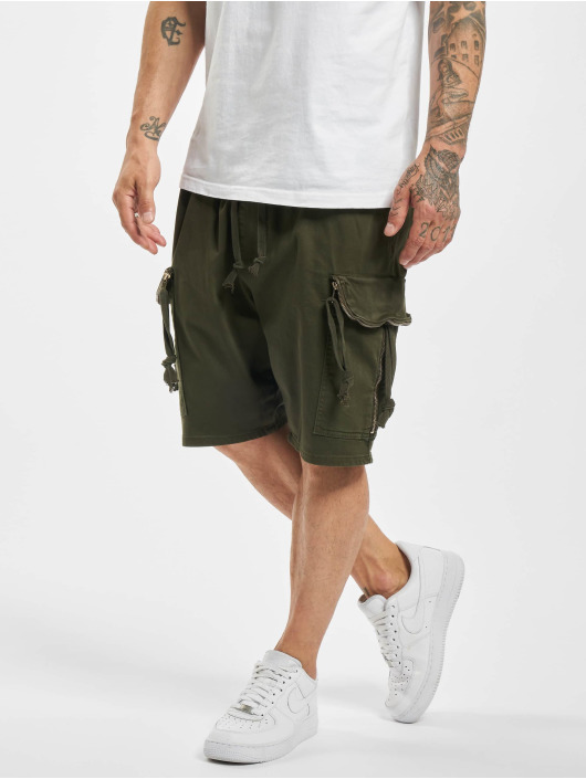 VSCT Clubwear Pantalón cortos Noah Flap caqui