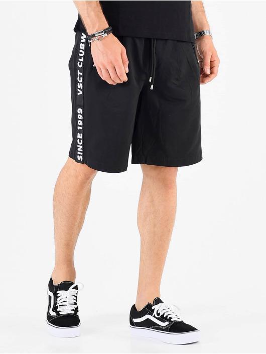 VSCT Clubwear Pantalón cortos Luxury Logo Tape negro
