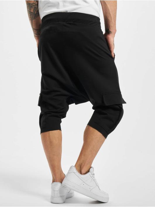 VSCT Clubwear Pantalón cortos Shogun negro