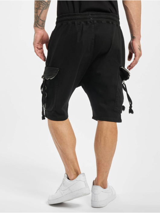 VSCT Clubwear Pantalón cortos Noah Flap negro