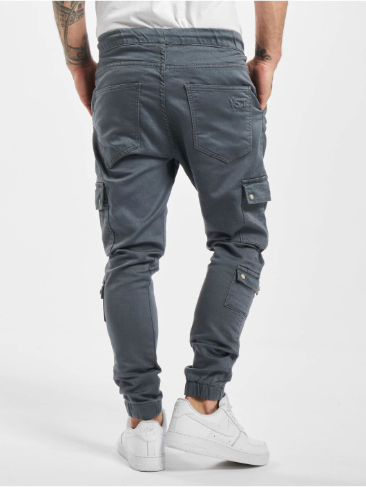 VSCT Clubwear Pantalone Cargo Nexus Straight Cuffed grigio