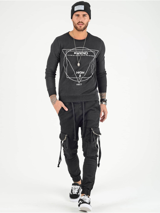 VSCT Clubwear Pantalone Cargo Noah nero