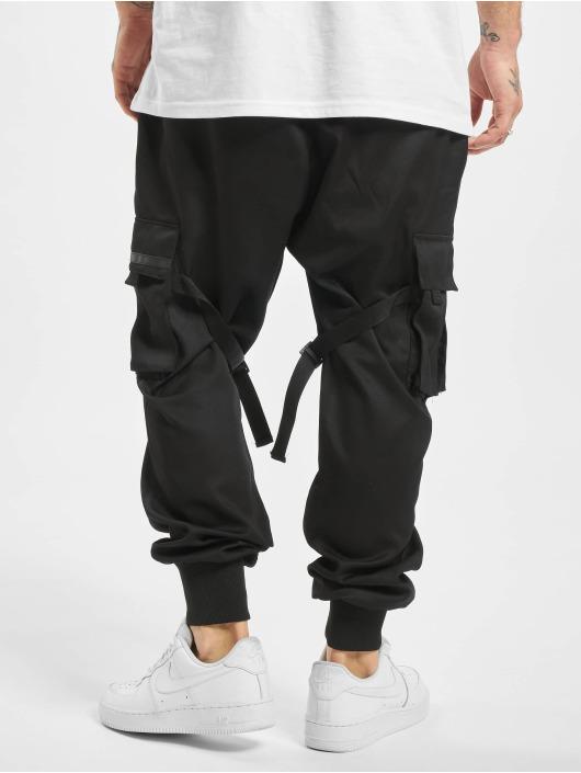 VSCT Clubwear Pantalone ginnico Combat Antifit Nylon nero