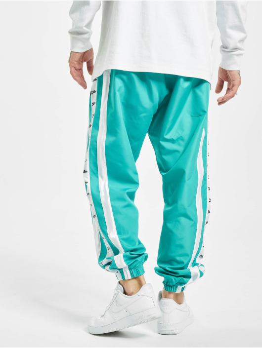 VSCT Clubwear Pantalone ginnico MC Nylon Striped turchese