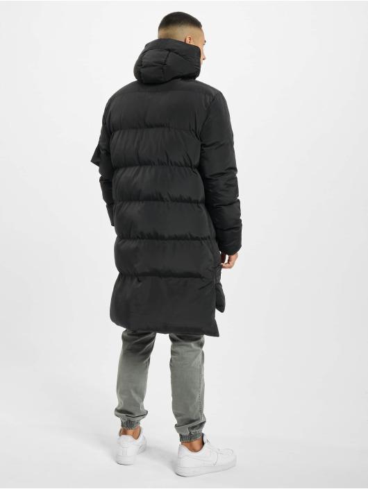 VSCT Clubwear Parka Padded Hooded black