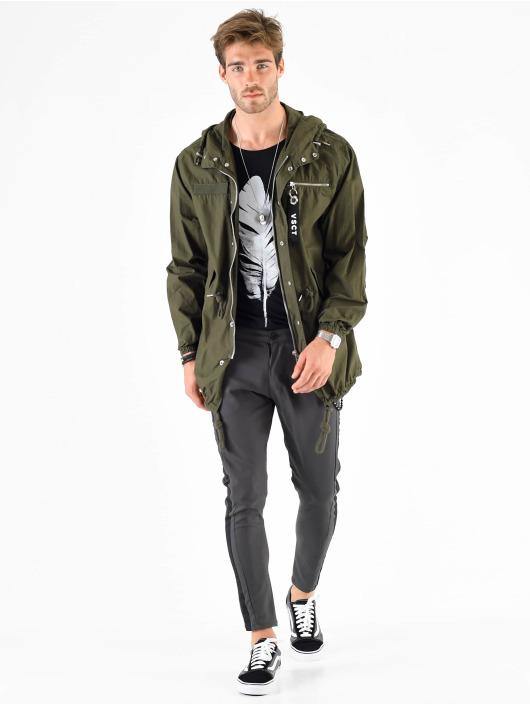 VSCT Clubwear Parka Bunda Luxury Corporate Summer hnědožlutý