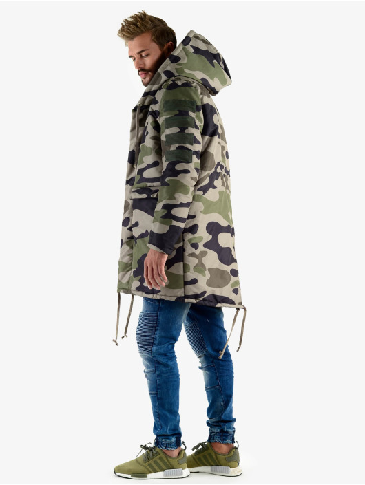 VSCT Clubwear Parka Corporate Army camuflaje