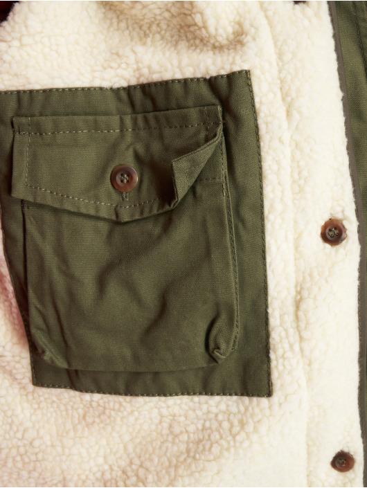 VSCT Clubwear Parka Luxury Parka With Detachable Sherpa kaki