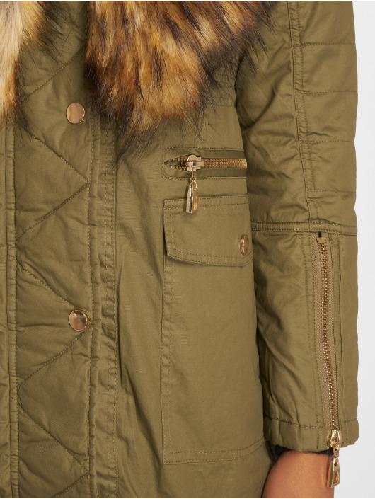 VSCT Clubwear Parka Coated olijfgroen