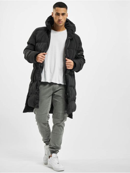 VSCT Clubwear Parka Padded Hooded schwarz
