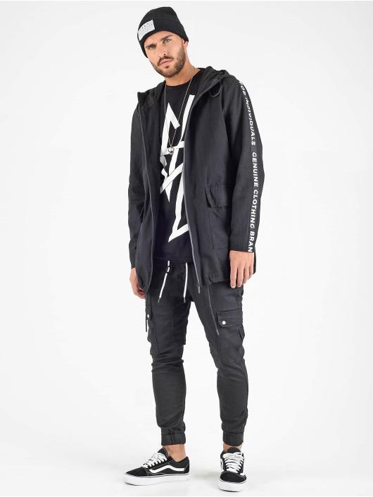 VSCT Clubwear Parka Twill svart