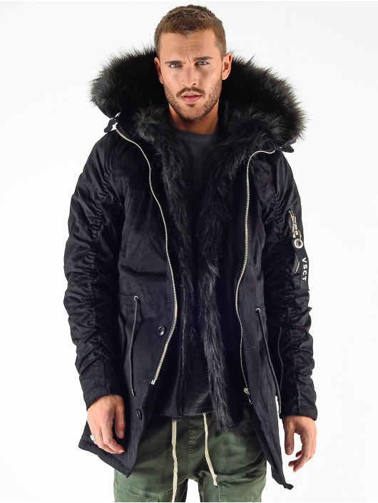 VSCT Clubwear Parka 2 Face svart