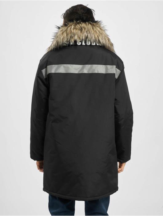 VSCT Clubwear Parka Chunk Reflective 2-Fur Freezer J svart