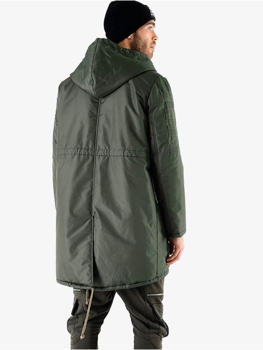 VSCT Clubwear Parkatakki Corporate Army oliivi