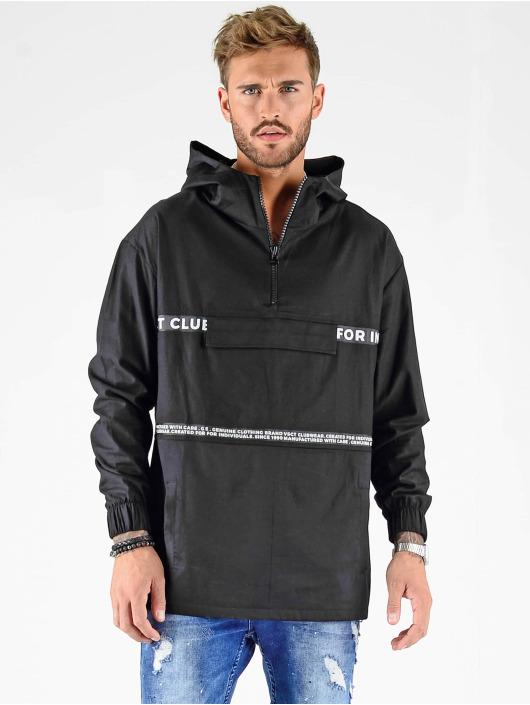 VSCT Clubwear Prechodné vetrovky Minimal Logo Tape èierna
