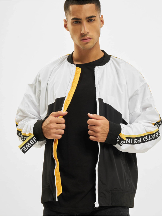 VSCT Clubwear Prechodné vetrovky Coach Logo Tape biela