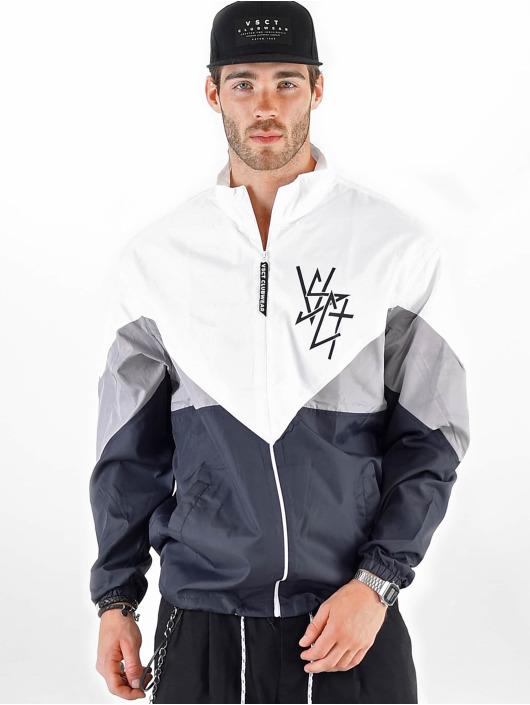 VSCT Clubwear Prechodné vetrovky Warm Up biela