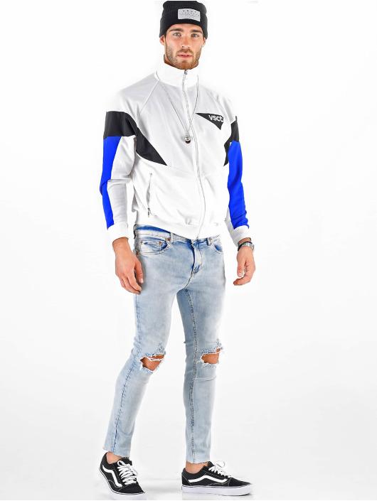 VSCT Clubwear Prechodné vetrovky Retro Logo biela