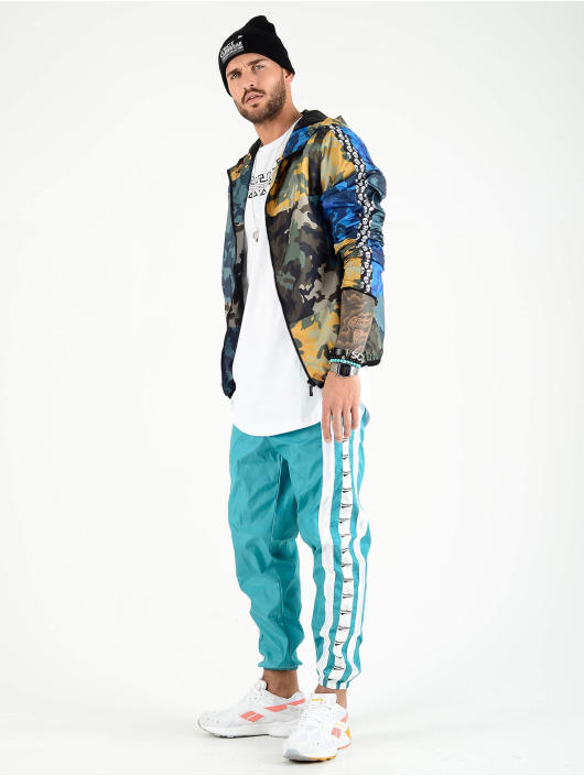 VSCT Clubwear Prechodné vetrovky Skull Striped maskáèová