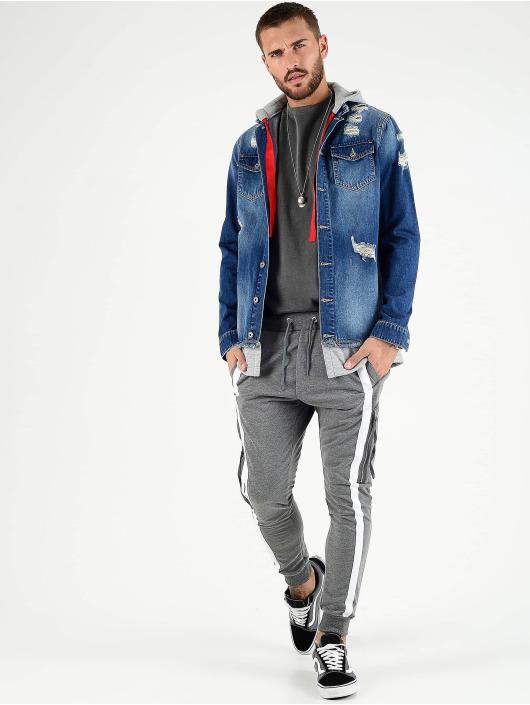 VSCT Clubwear Prechodné vetrovky 2 In 1 Hybrid modrá