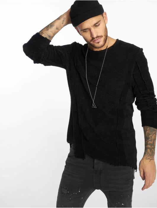 VSCT Clubwear Pullover Raw Cut black