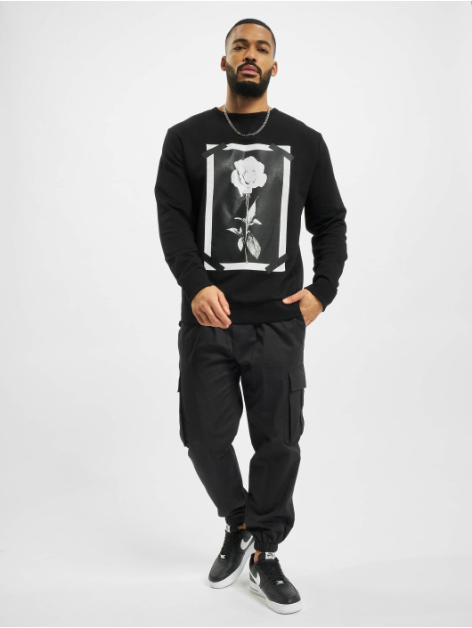 VSCT Clubwear Pullover Roses & Tape schwarz