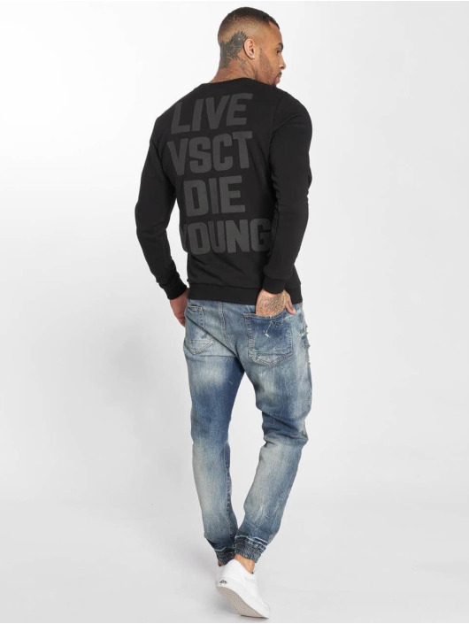 VSCT Clubwear Pulóvre Studded èierna