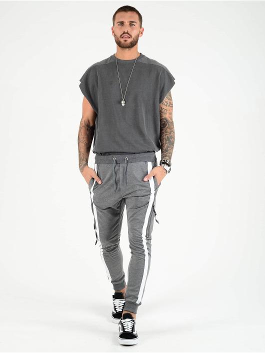 VSCT Clubwear Reisitaskuhousut 4-Stripe PKT harmaa