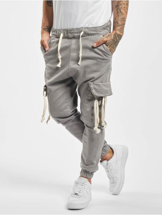 VSCT Clubwear Reisitaskuhousut Noah Denim Cargo harmaa